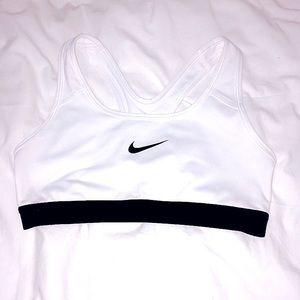 NIKE - Sports Bra - Black And White